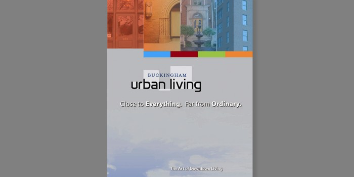 Buckingham Urban Living Brochure