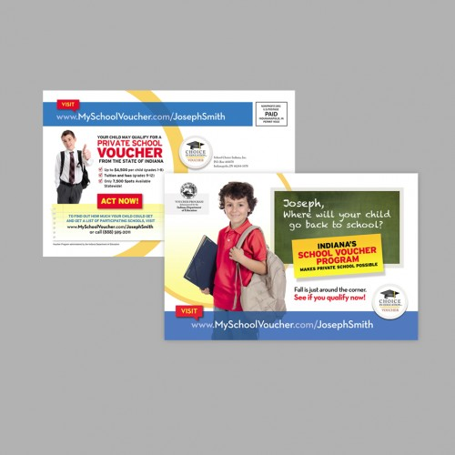 School Choice Personalized Direct Mail Campaign